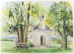 Kapelle Maria Dank, 51 x 36 cm, 2007