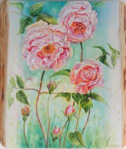 Rosen, ca. 40 x 50 cm, 2015