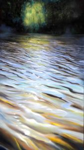 Waldweyer, Öl/Acryl, 80 x 140 cm, 2009