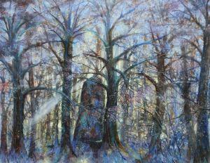 Opalmentrio, Öl/Acryl, 100 x120 cm, 2002