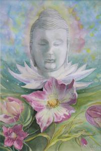 Buddha, Aquarell, 30 x 45 cm, 2007