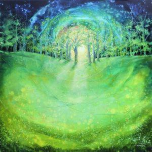 Maimeditation, 100 x100 cm, 2015